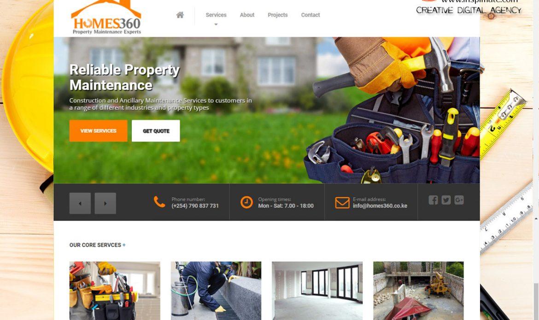 Leonary Fast Delivery, Errands, Door to Door Parcels website design by Inspimate