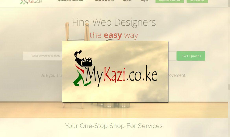 MyKazi Branding, Logo Design by Inspimate Enterprises, Mombasa - Kenya