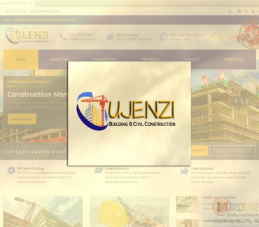 Ujenzi - Construction Company Logo For Sale by Inspimate Enterprises