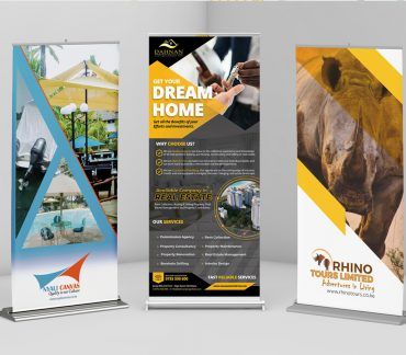 Design Roller Banners exhibition, trade show or in your own premises by Inspimate