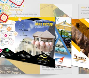 Bespoke Designing, Printing of Brochures by Inspimate Enterprises