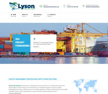 Lyson International, Logistic Management Services and Supply Chain Solutions