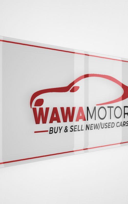 WaWa Motors KE Logo