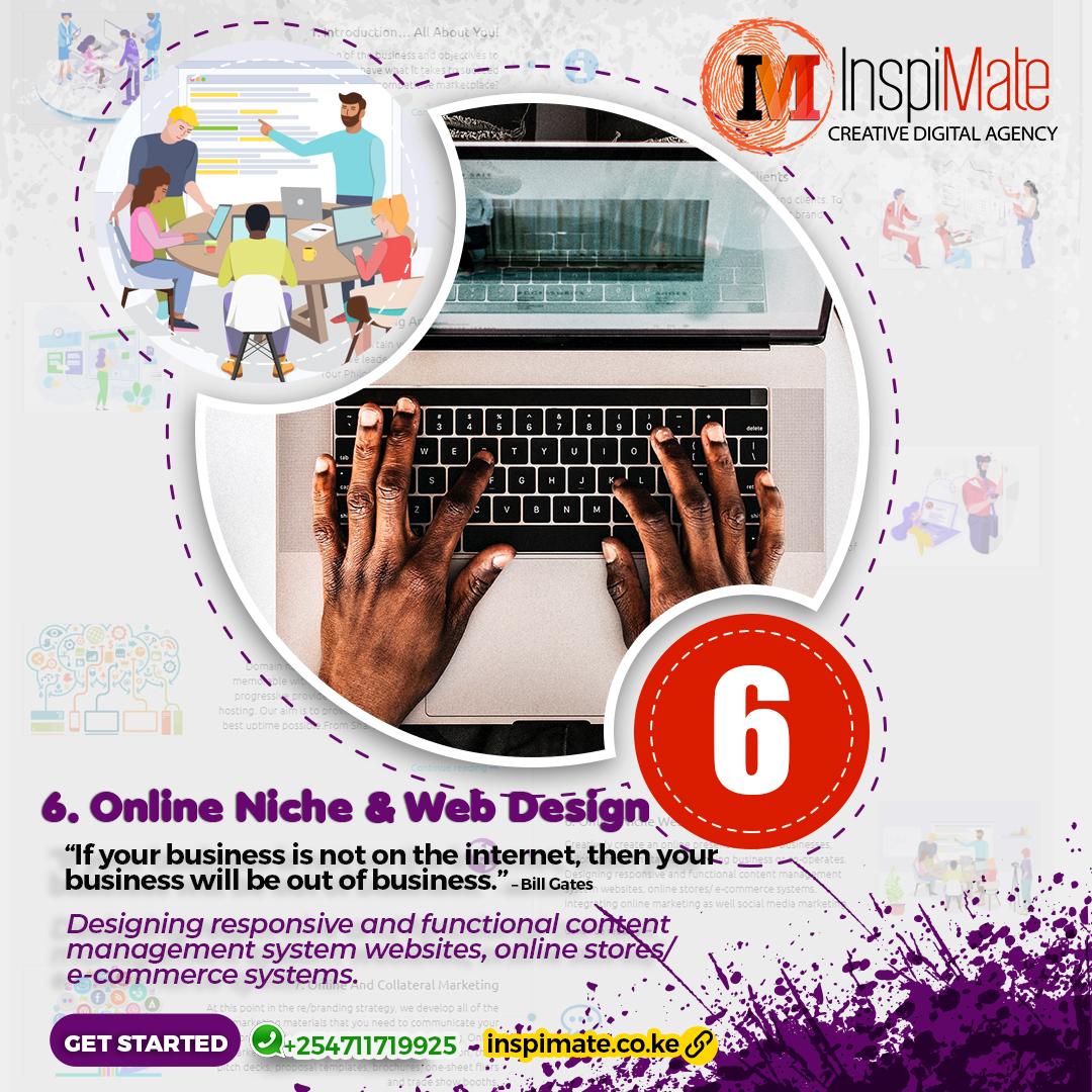 Inspimate - Online Niche more than Web Design - Responsive Web Design