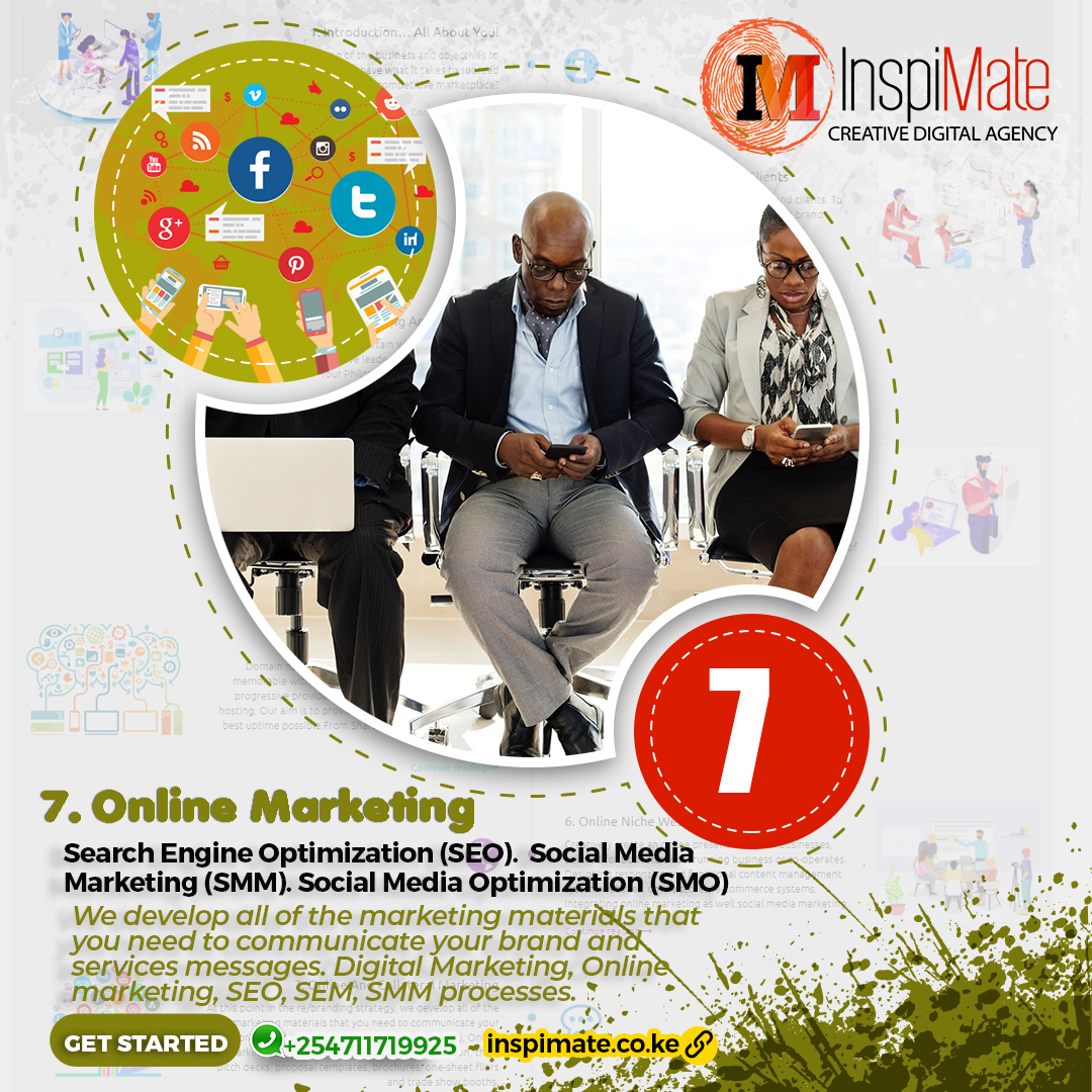 Inspimate - Online marketing, Collateral Marketing, Digital Marketing, SEO, SEM, SMM