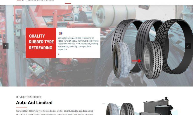 Website Design for Auto Aid Limited by Inspimate Enterprises