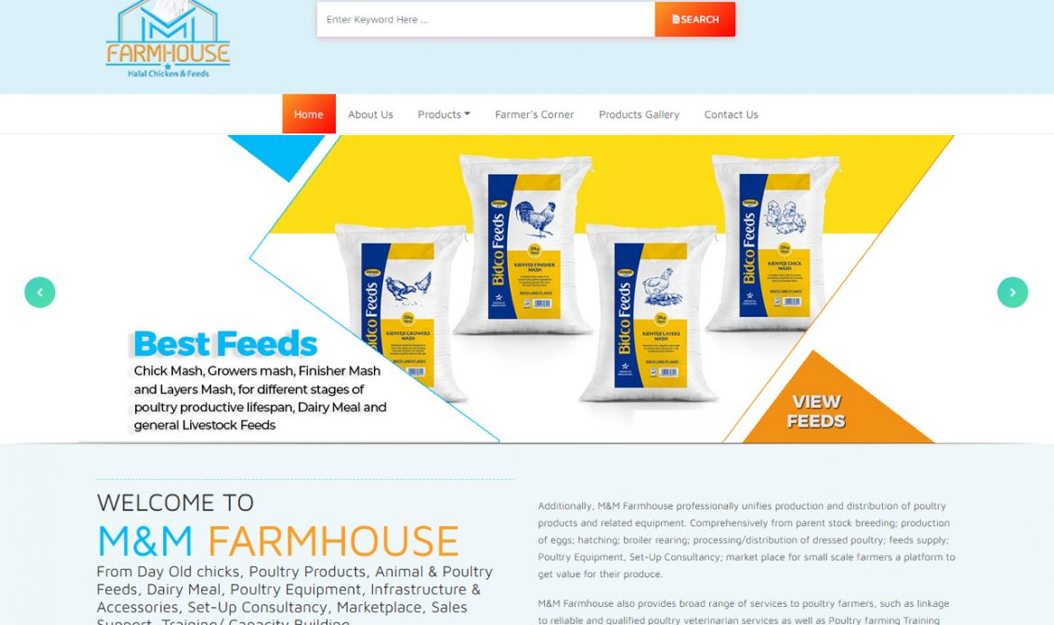 M&M Farmhouse, Poultry, Animal & Poultry Feeds, Dairy Meal by Inspimate