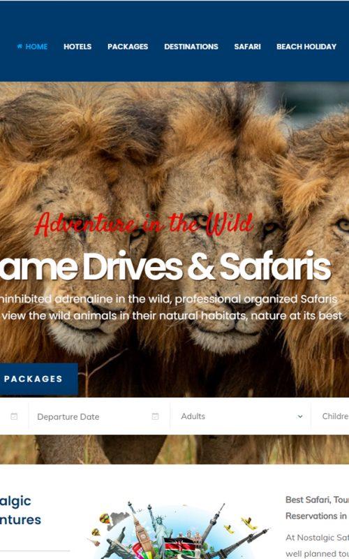 Nostalgic Safaris and Adventures