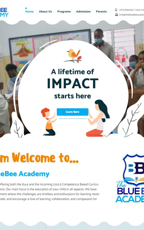 The Blue Bee Academy